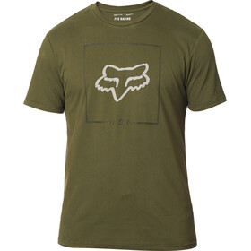 Fox Chapped Airline T-shirt Heren, olive green